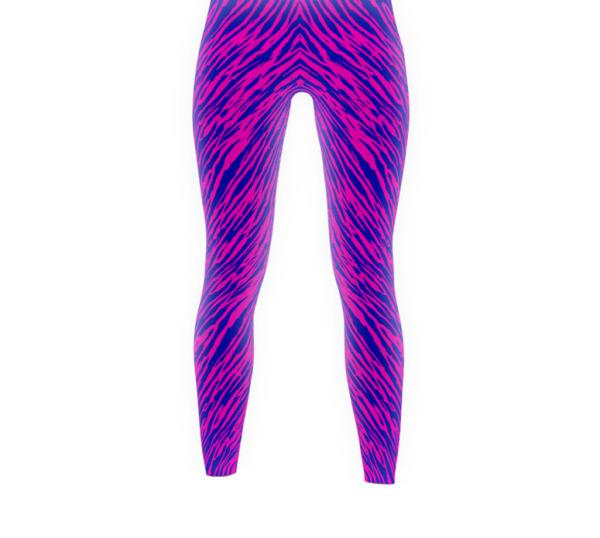 Pink Zebra - Active Gear Tights