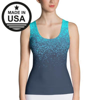 Blue Specks - Active Gear Tank Xs /
