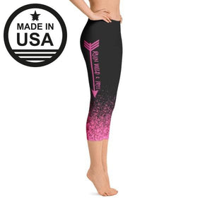 Rwf Pink - Active Gear Capri Tights Xs / Black