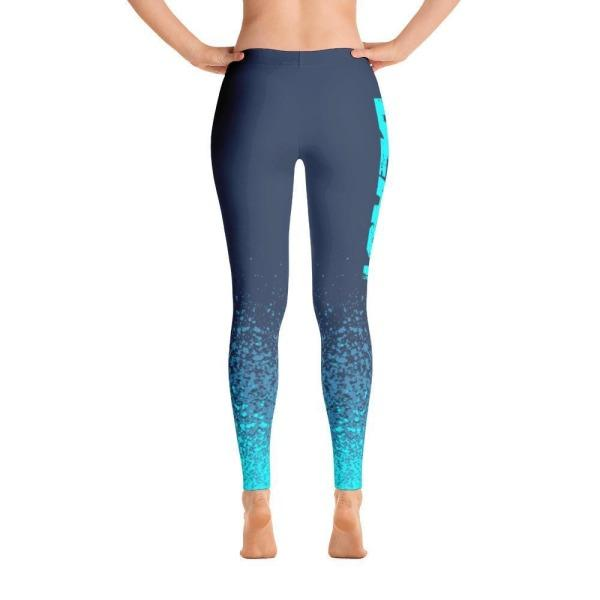 Beast Blue Splash - Active Gear Tights