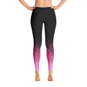 Pink Splash - Active Gear Tights