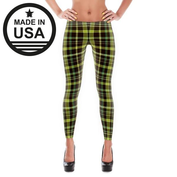 Leggings Xs / Green