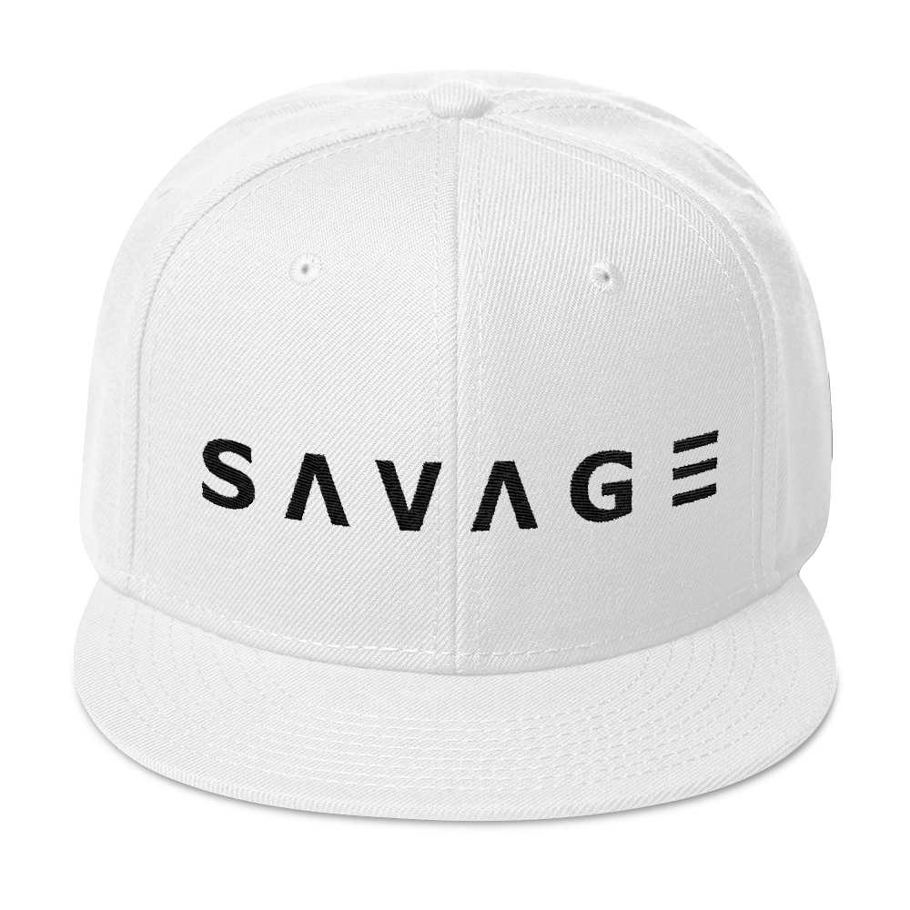 Savage Snapback (White)
