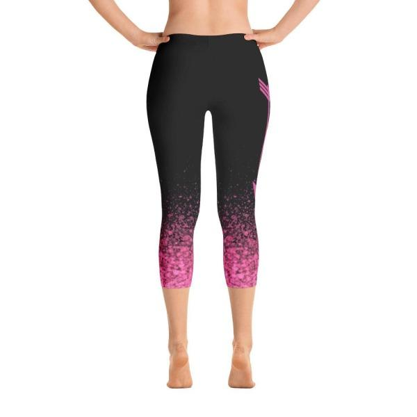 Rwf Pink - Active Gear Capri Tights