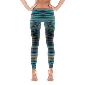 Striped - Active Gear Tights