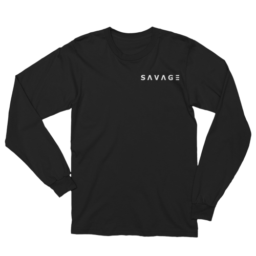 Savage Long Sleeved Shirt (Black) S