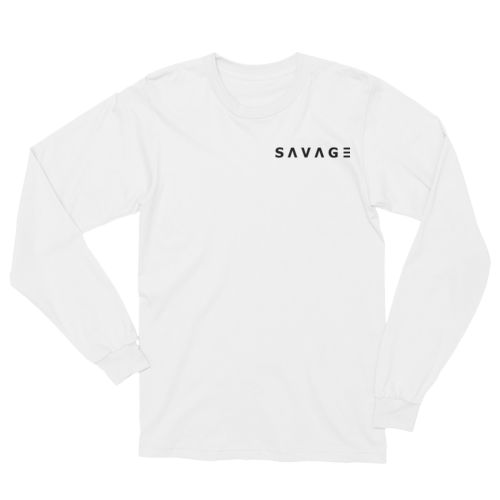 Savage Long Sleeved Shirt (White) M