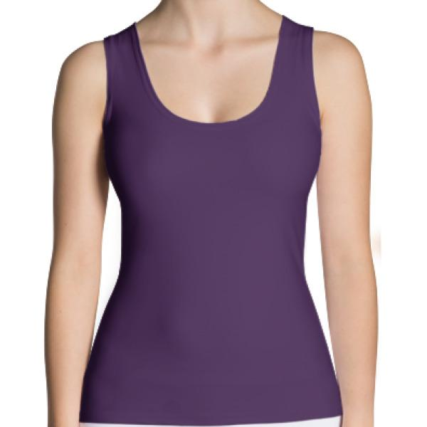 Solids - Active Gear Tank Xs / Purple
