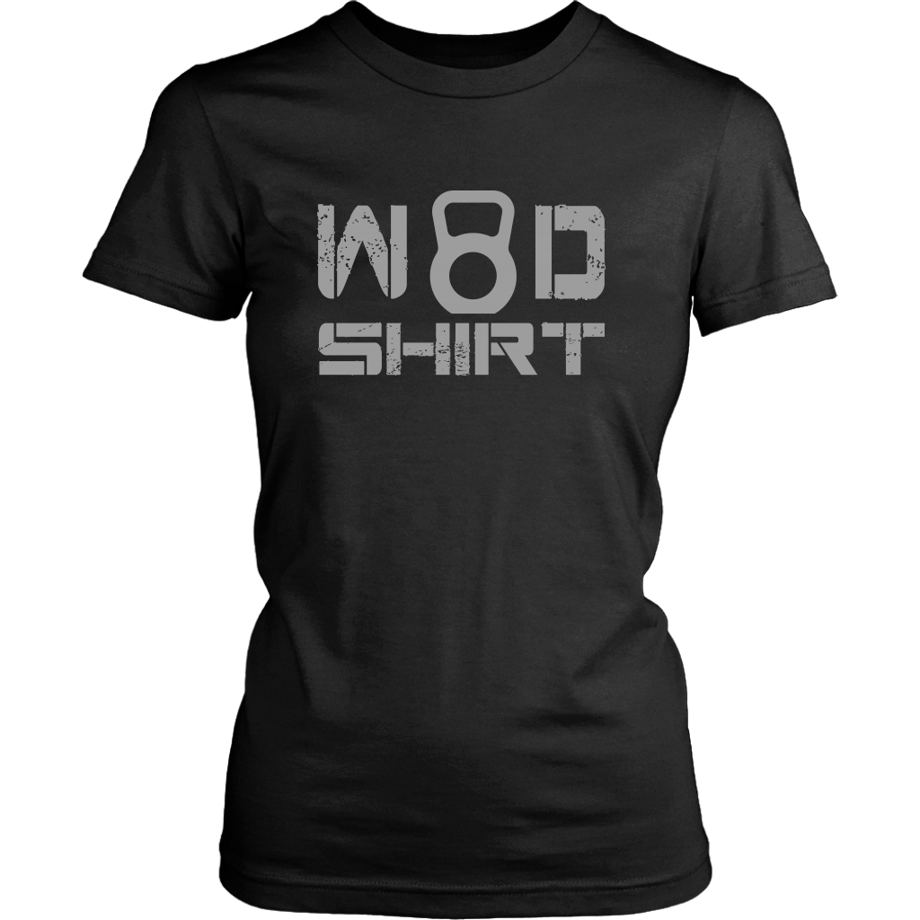 Wod Shirt - Womens District / Black Xs T-Shirt