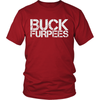 Buck Furpees - Mens Shirt Gildan Unisex / Red S T-Shirt