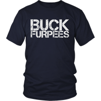 Buck Furpees - Mens Shirt Gildan Unisex / Navy Blue S T-Shirt