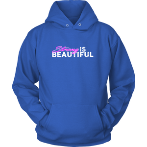 Strong Is Beautiful - Hoodie Unisex / Blue S T-Shirt