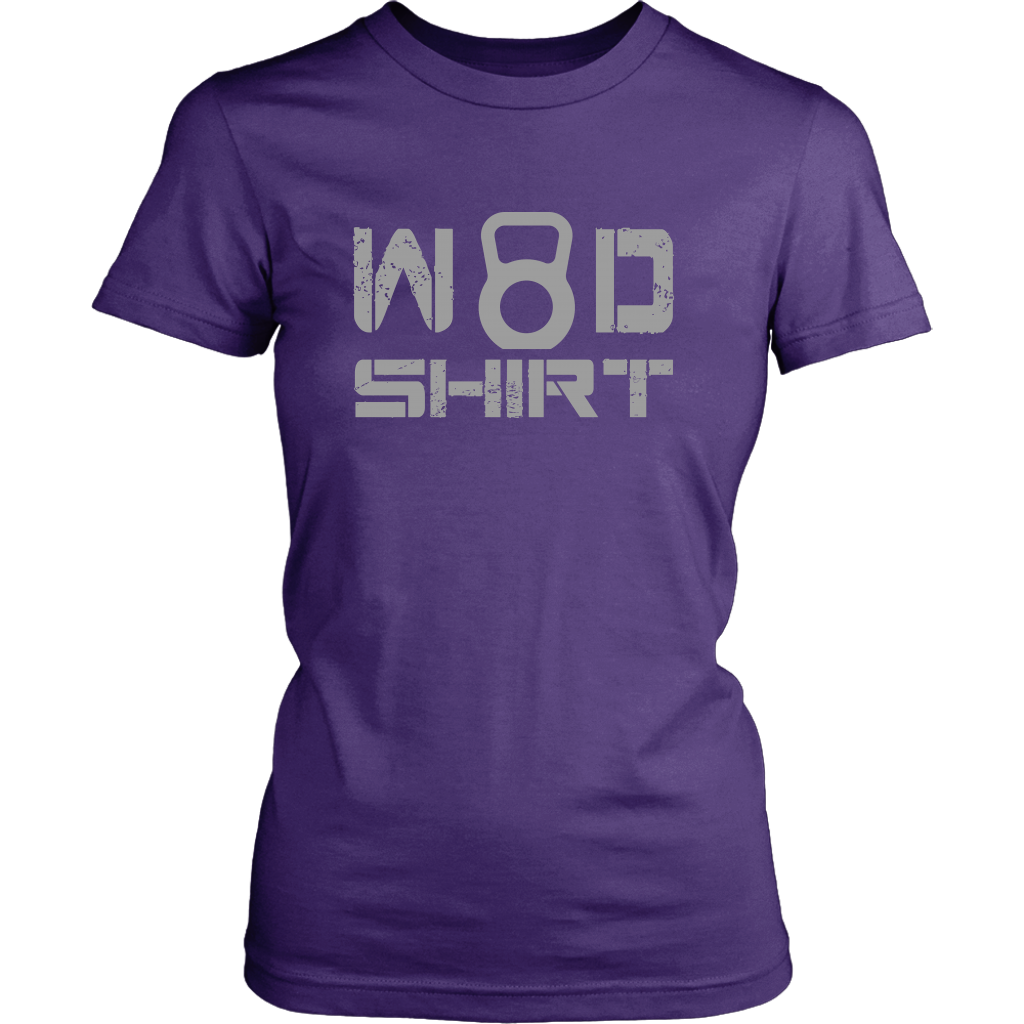 Wod Shirt - Womens District / Purple Xs T-Shirt