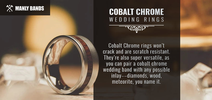 cobalt chrome wedding rings graphic