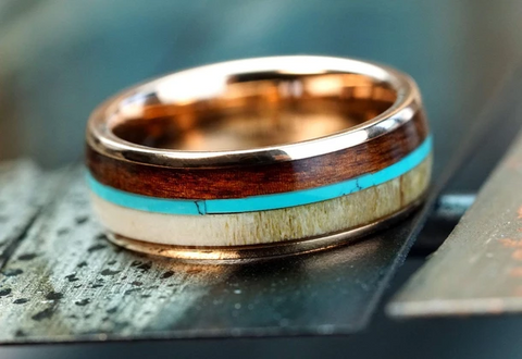The Journeyman Tungsten Ring
