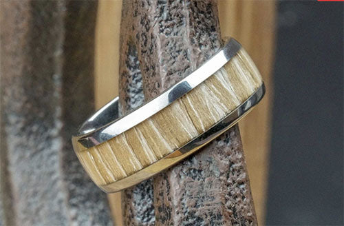 Mountain Man Tungsten Wedding Ring