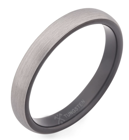The Rockstar Tungsten Ring