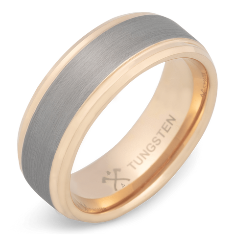 The Gentleman Tungsten Wedding Band