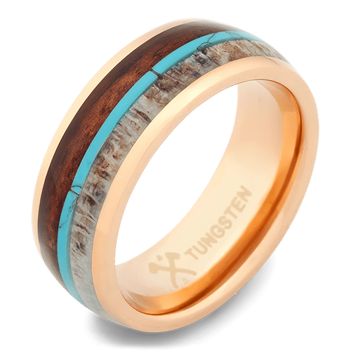 The Journeyman Tungsten Wedding Ring