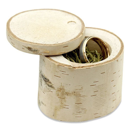 manly bands birch ring holder