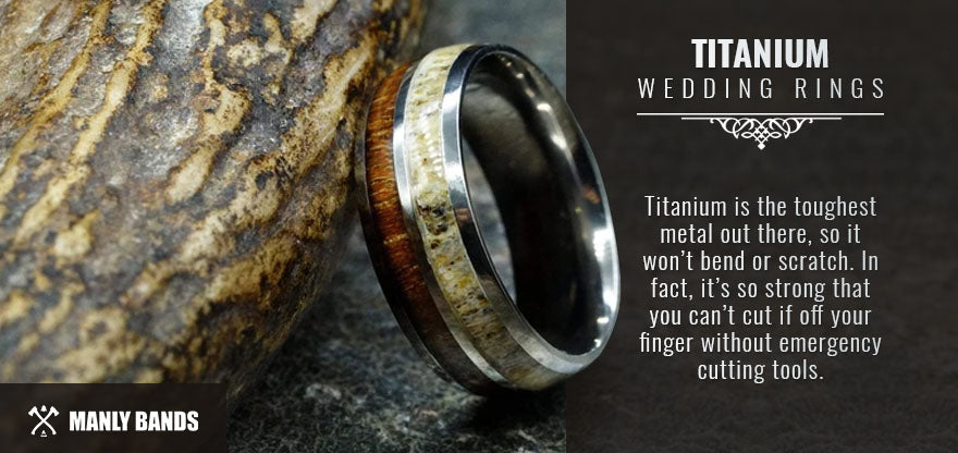 titanium wedding rings graphic