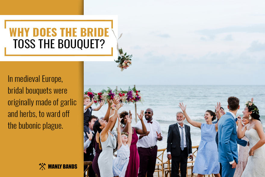 Why Does the Bride Toss the Bouquet