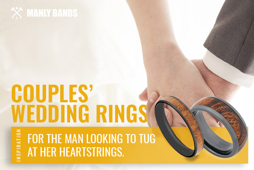 couples' wedding rings