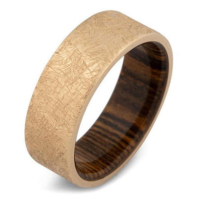 The Baron Solid Gold Wedding Ring