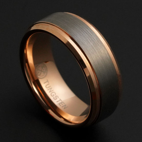 Rose Gold Wedding Bands Rose Gold Wedding Bands. Tungsten ...
