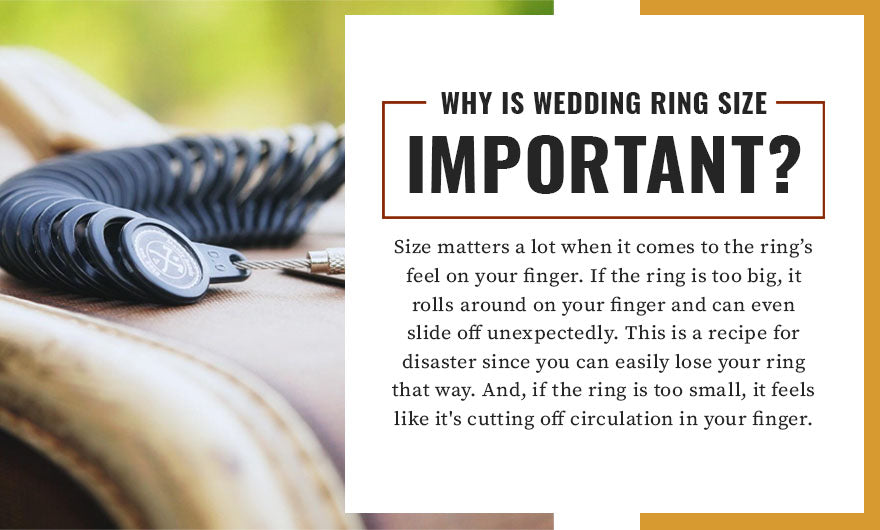 why is wedding ring size important quote