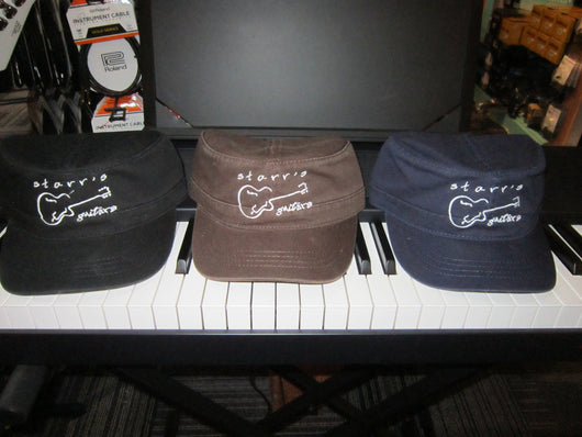 Starr's Guitars Military Style Cadet Cap