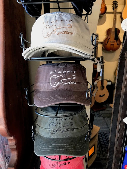 Starr's Guitars Cadet-style hat