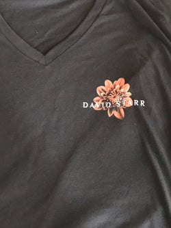 Women's David Starr/Beauty And Ruin V-Neck