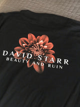 David Starr/Beauty And Ruin Round Neck T