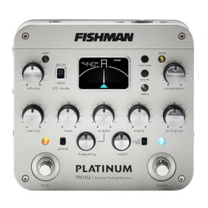 Fishman Platinum Pro EQ/DI Analog Preamp Pedal
