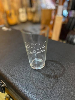 Starr's Guitars Beverage Glass