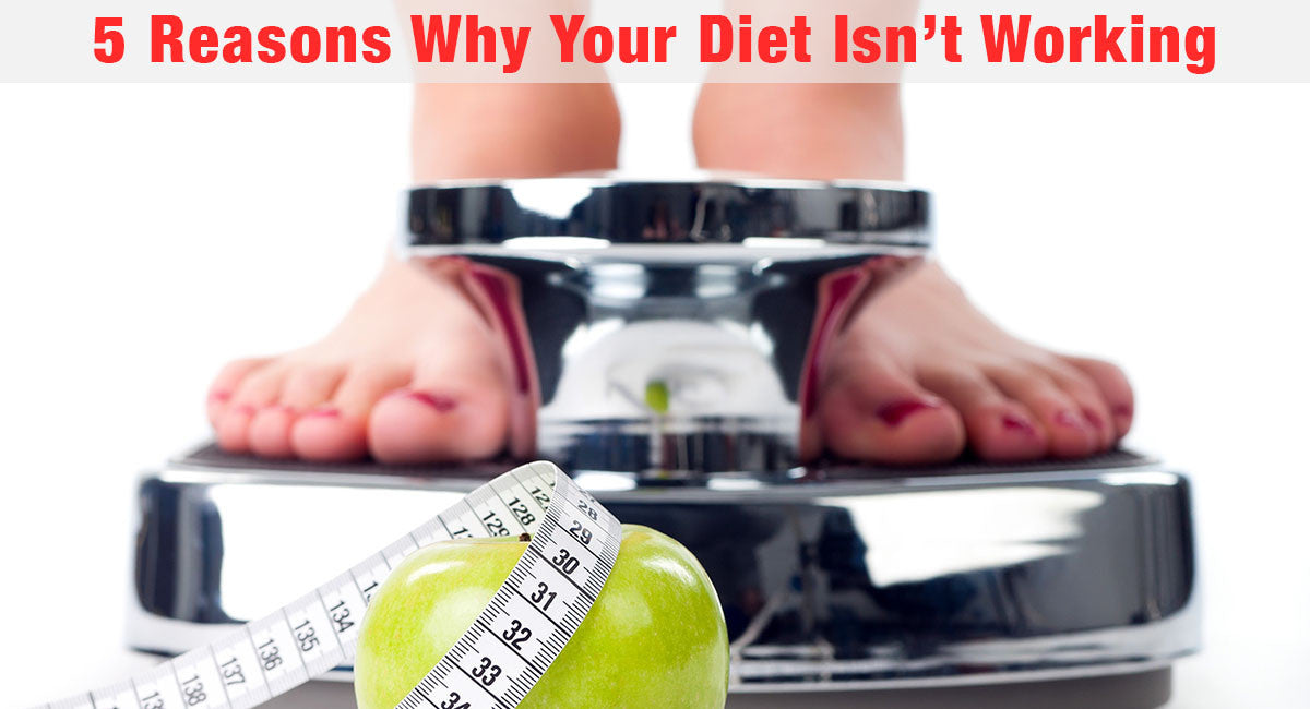 5 Reasons Why Your Diet Isn't Working