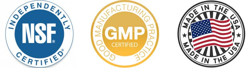 Made & Certified in the USA