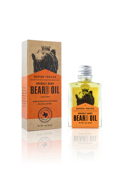 Grizzly Gent Beard Oil