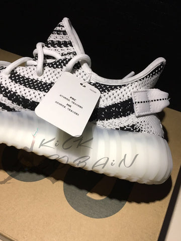 Men Yeezy boost 350 v2 'Zebra' cp9654 full sizes Release 2017