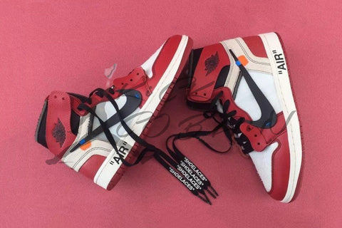"Nike x OFF-WHITE By Virgil Abloh x Air Jordan 1 ""Chicago""  AA3834-101"