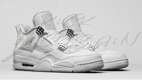 "THE AIR JORDAN 4 ""PURE MONEY"""