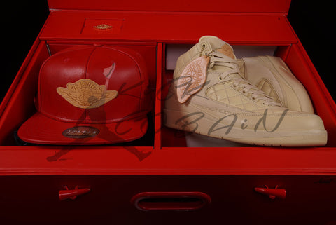 "JUST DON X AIR JORDAN 2 ""BEACH"""
