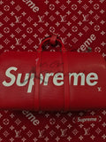 Louis Vuitton x Supreme Keepall Bandouliere Forty Five RED / Fifty Five BLACK