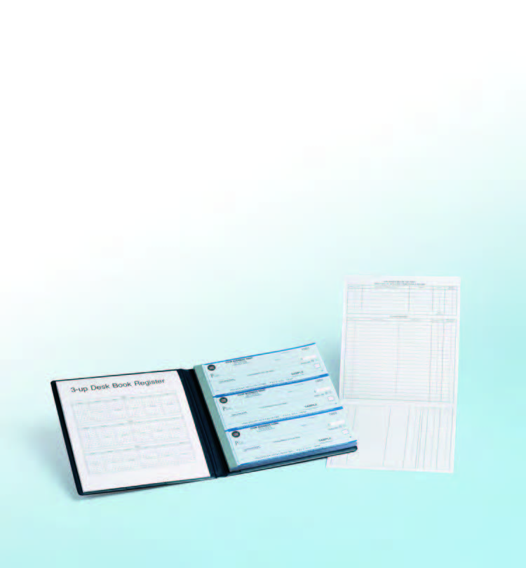 Desk Book / Compact Checks Package - 3 Checks Per Page
