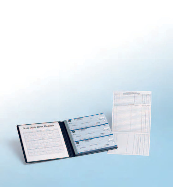 Desk Book / Compact Checks - 3 Checks Per Page