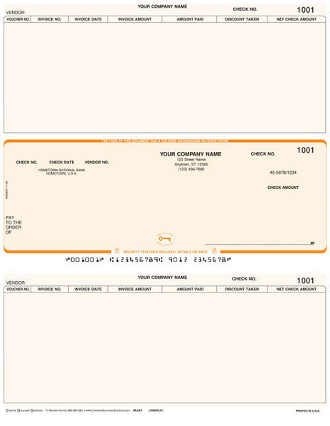 Macola 6 Laser Accounts Payable Check