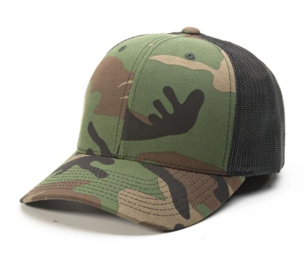 Richardson Trucker Mesh Printed 112P Military Camo