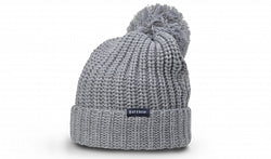 Richardson Beanie Chunk Cable with Cuff and Pom 143