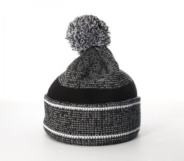Richardson Beanie Heathered Knit W/Cuff & Pom 148
